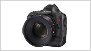 4K動画記録を実現するデジタル一眼レフカメラ(開発中)