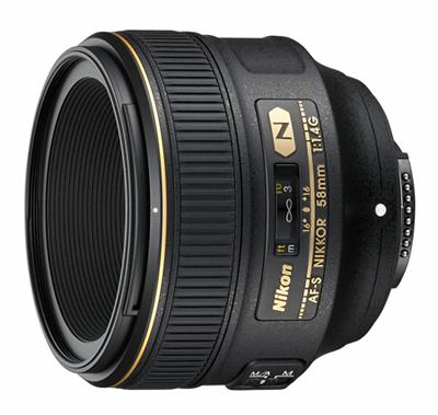 Nikon「AF-S NIKKOR 58mm f/1.4G」