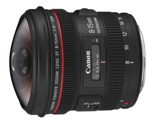 Canon EF8-15mm F4L FishEye USM