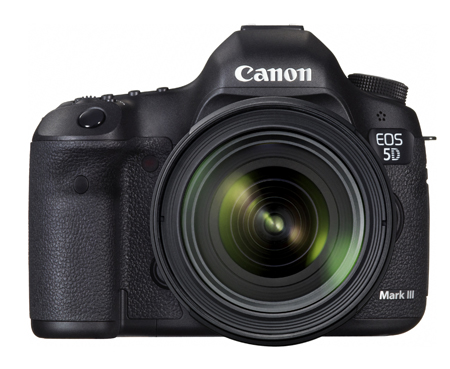 Canon「EOS 5D Mark III・EF24-70L IS U レンズキット」